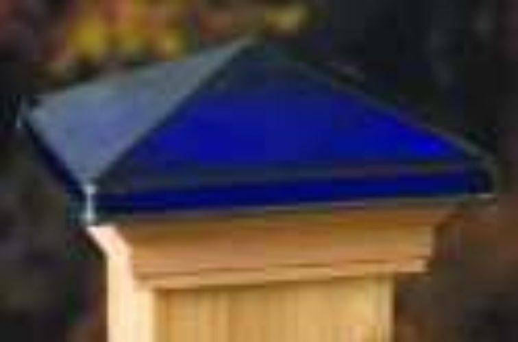 AFC Iowa City - Accessories, Decorative Glass Cedar Fence Post Cap